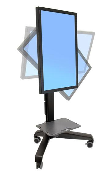 Pedestal para pantalla grande con ruedas