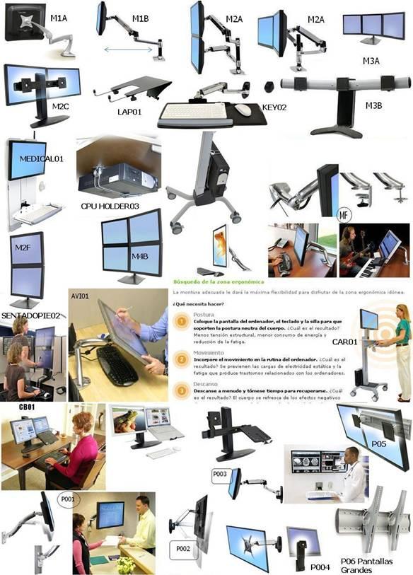 Soportes ERGOTRON - DS100 - LX- Workfit