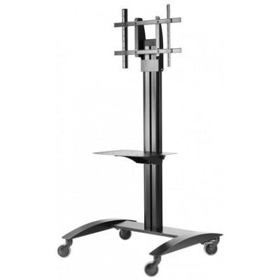 Pedestal con ruedas de piso para pantallas tv 32 a 75 pulgadas