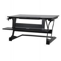 Estación para trabajo de pie, convierte escritorio sobre mesa