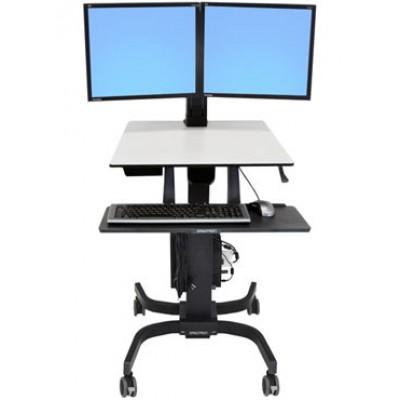 WorkFit-C Estación de Trabajo Sentado de Pie Dual 24-214-085