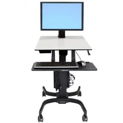 WorkFit-C Estación de Trabajo Sentado de Pie, pantalla 24-216-085
