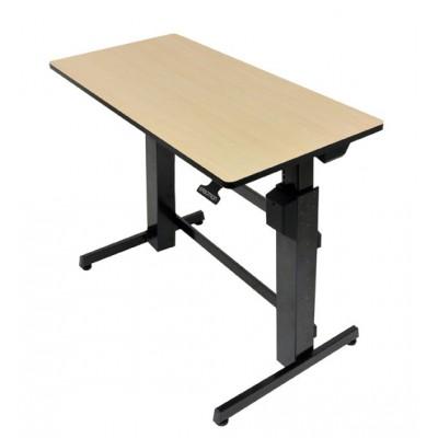 Mesa o escritorio para trabajar ajustable en altura de pie