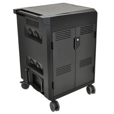 Carro de carga de tabletas PS, CA ergotron 24-380-085 ruedas