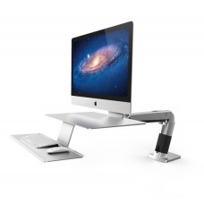 Soporte para imac de apple escritorio mesa teclado y mouse