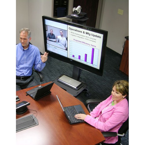 Base para videoconferencias soporte camara web