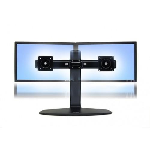 Soporte doble ergotron de mesa para dos monitores o tv - Soporte para mesa ...