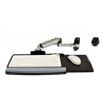 Ergotron 45-246-026 | Soporte de pared teclado mouse brazo articulado LX