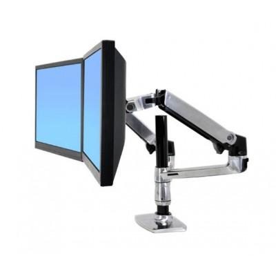Brazo articulado Doble Dual para 2 pantallas