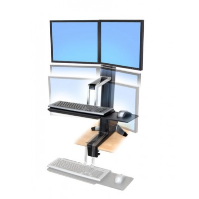 WorkFit S, Dual Sit Stand Workstation 33 341 200