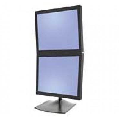 Base de escritorio 2 monitores DS100 Vertical Ergotron Pantalla