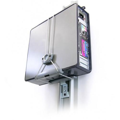 Soporte universal para cpu pared mesa tubo 80 105 064 vertical - Soportes altavoces pared ...