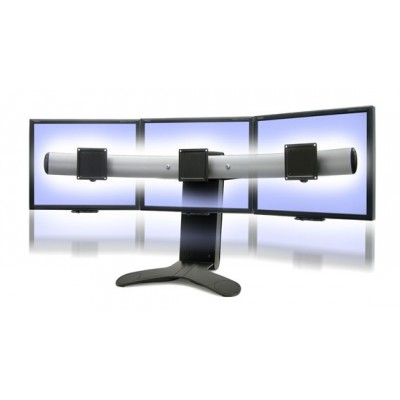Soporte 33 296 195 para 3 monitores 2 pantallas mesa escritorio