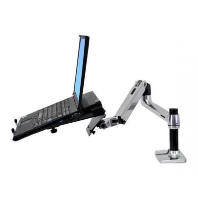 Soporte para laptop ajustable en altura brazo articulado