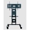 Soporte de Piso Tipo Carro  Tipo Carro  Reforzado, ideal paraa exposiciones y exhibiciones  Con ruedas para fácil desplazamiento y base multifuncional  Modelo GENT1-ST03  Para Pantallas y Monitores de 37