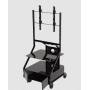 Soporte de piso para pantalla - Carro movil pedestal