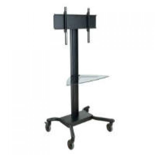 Pedestal con ruedas de piso para pantallas tv 32 a 75 pulgadas peer - Soporte con ruedas para tv ...