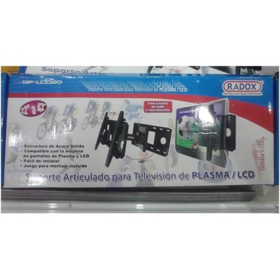 Soporte para pantalla lcd led o plasma TV articulado hasta 42 pulgadas