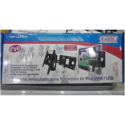 Soporte para pantalla lcd led o plasma tv articulado hasta - Soporte tv 42 pulgadas ...