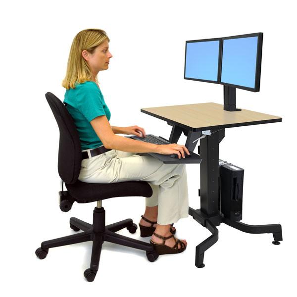 Escritorio trabajar de pie o sentado