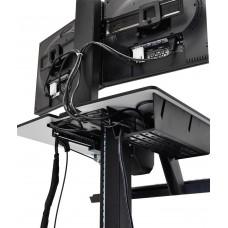 WorkFit-C Estación de Trabajo Sentado o de Pie, una pantalla LD
