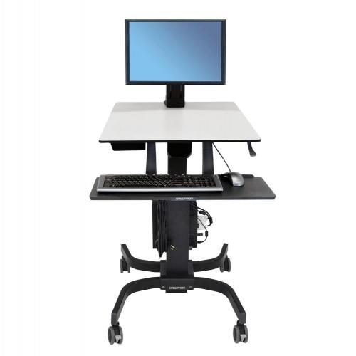 WorkFit-C Estación de Trabajo Sentado o de Pie una pantalla LD