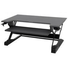WorkFit-TL, sentado y de pie de estación de trabajo de escritorio