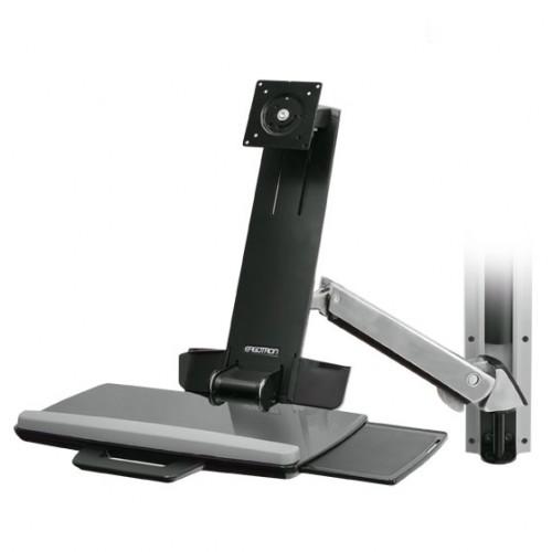Sistema Combo para trabajar sentado y de pie StyleView Negro