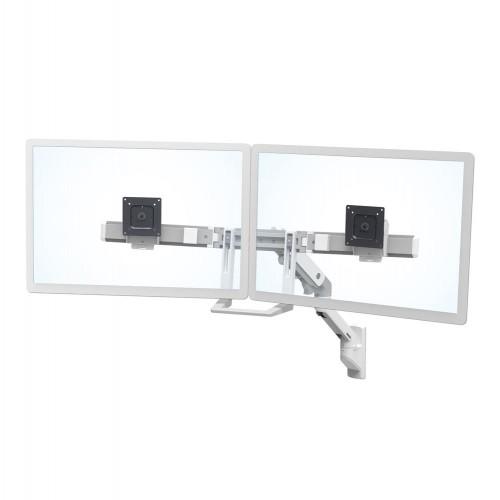 Brazo de pared para monitor doble HX