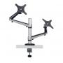 <b>Notice</b>: Undefined offset: 1 in <b>/home/ergotron/pcalmacen.com/venta/catalog/view/theme/default/template/product/product.tpl</b> on line <b>24</b>Soporte doble de escritorio de brazo flexible de movimiento completo para monitores de 13&quot; a 27&quot; DDR1327DCS-