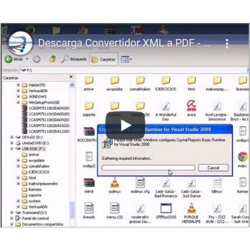 descarga convertidor xml a pdf masivo