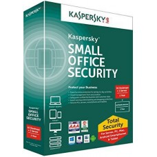 Antivirus Kaspersky Small Office Security - 10+1 - 1 año