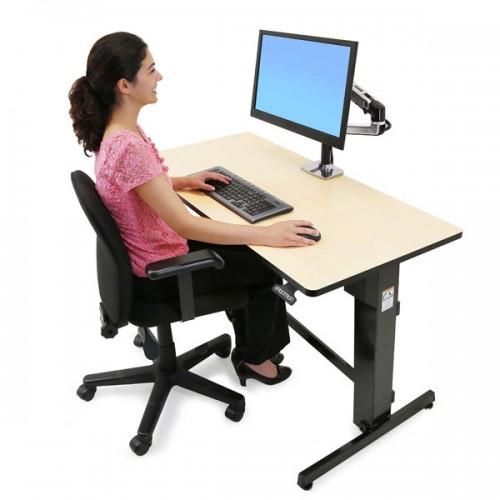 Escritorio Workfit D Para Trabajar Sentado Y De Pie Pc