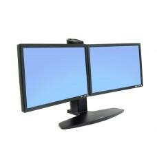 Soporte Doble Ergotron de mesa para dos monitores o tv