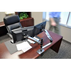 Brazo para monitor de escritorio LX Doble