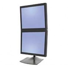 Base de escritorio o soporte para 2 monitores Vertical Ergonomico Pantallas