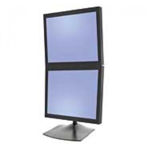 Base de escritorio o soporte para 2 monitores vertical for Escritorio ergonomico
