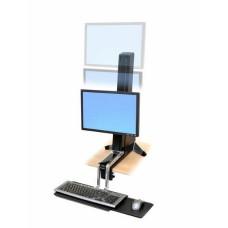 WorkFit-S, una pantalla LD Soporte para trabajar sentado o de pie