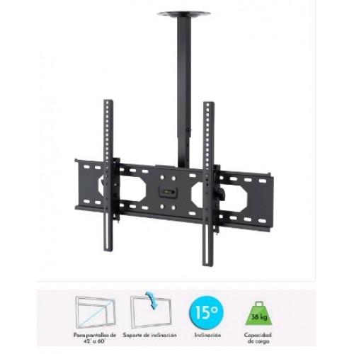 Soporte de techo para pantallas TV de LCD/LED de hasta 60 pulgadas