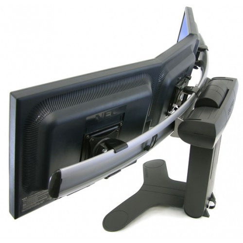 soporte para 3 monitores 2 pantallas sobre mesa escritorio pc almacen. Black Bedroom Furniture Sets. Home Design Ideas