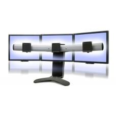 Soporte para 3 monitores-2-pantallas sobre mesa escritorio