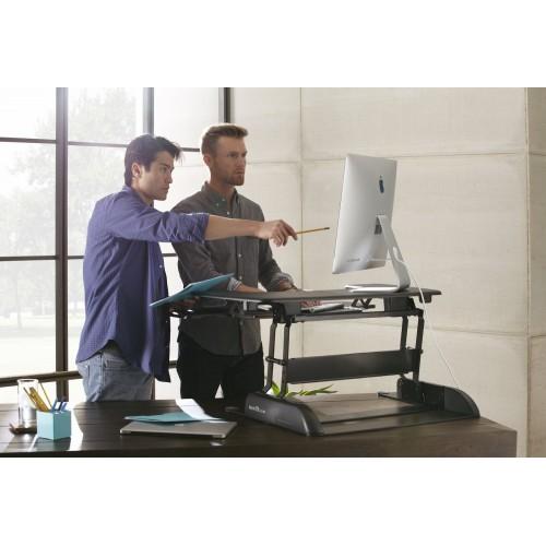 Varidesk PRO Plus 36 - trabajar de pie o sentado