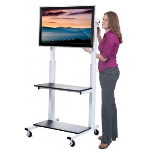 Soporte de piso para pantallas de tv grandes ruedas pc almacen - Soporte con ruedas para tv ...