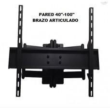 soporte a pared 40 a 100 pulgadas brazo articulado