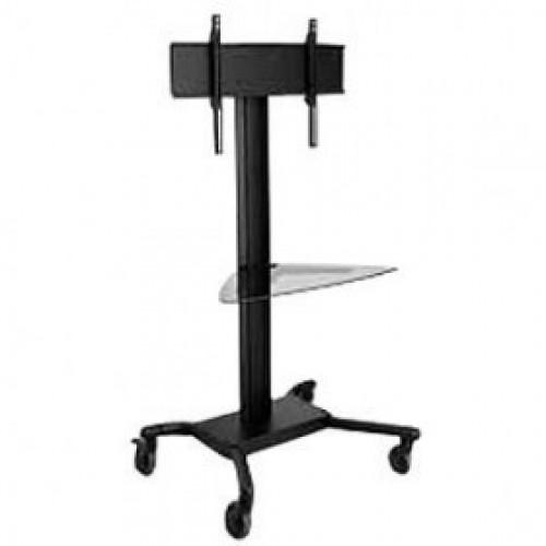 Pedestal con ruedas de piso para pantallas tv 32 a 60 pulgadas pc almacen - Soporte con ruedas para tv ...