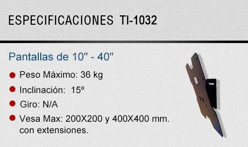 EspecificacionesGENTI1032