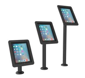 Pedestales para pantallas tabletas chicas